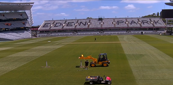 Eden Park launches new TORO Turf Cam allowing fans to watch venue transformation