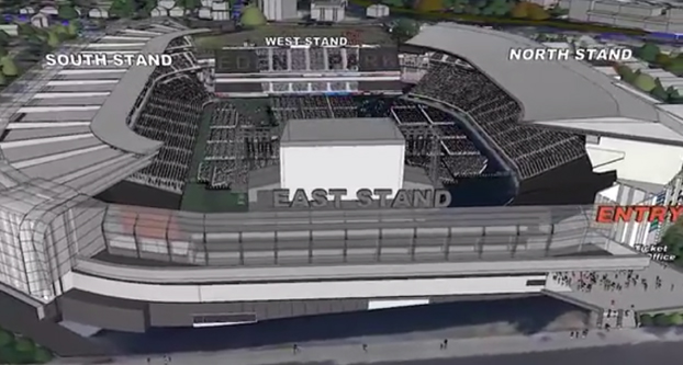 Eden Park looks to stage live entertainment events