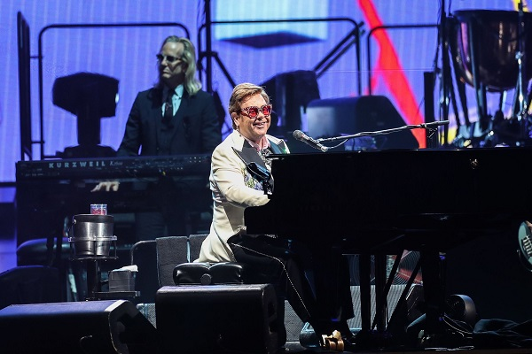 New Pollstar figures show Elton John's Australasian dates as world's second most successful tour