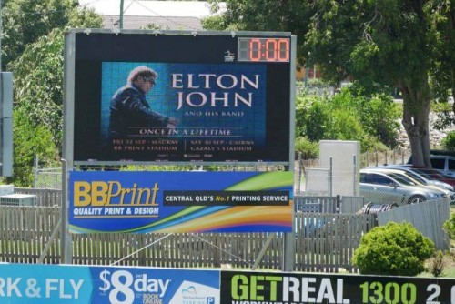 Sir Elton John to perform live shows in north Queensland in September