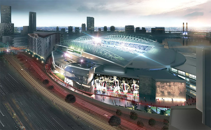 Victorian Government backs plans for redevelopment of MCG and Etihad Stadium