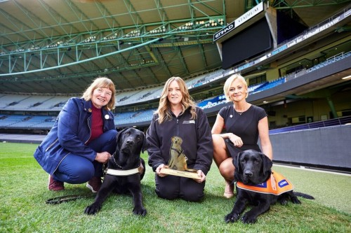 Guide Dogs Australia recognise Etihad Stadium for community accessibility