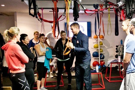 F45 Training offers functional training in a team environment