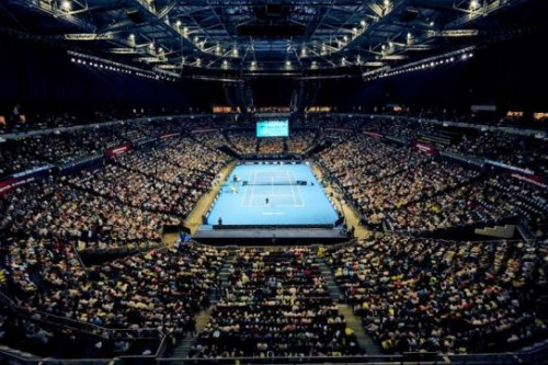 Sell-out crowd watches FAST4 Tennis at the Allphones Arena