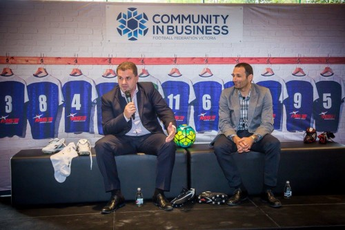 FFV community business network links businesses, football clubs, media and Government