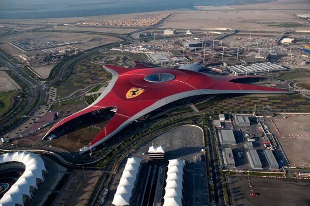 Ferrari World Abu Dhabi to open seven new rides