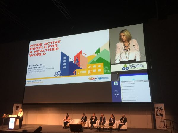 World Health Organization promotes physical activity action plan at National Sports Convention