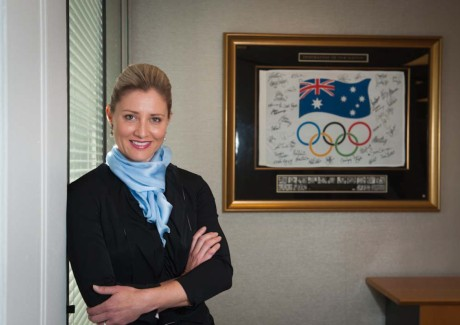 Former Chief Executive in reported dispute with Australian Olympic Committee