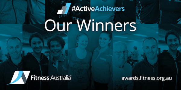 Fitness Australia announces 2016 Active Communities and Active Achievers Award winners