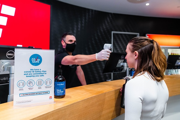 Fitness First introduces attendee temperature checks at NSW clubs