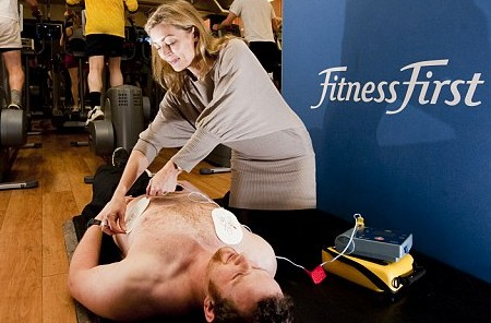 Should fitness clubs install defibrillators?