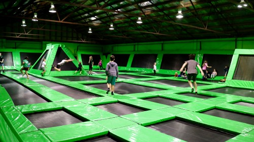 Damning Sydney newspaper report slams safety record of Flip Out trampoline centres