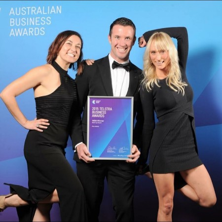 Ezypay and new Sydney gym Flow Athletic win at 2015 Telstra NSW Business Awards