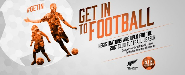 New Zealand Football launches 'Get In' participation initiative
