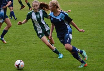 Female youth footballers benefit from targeted funding