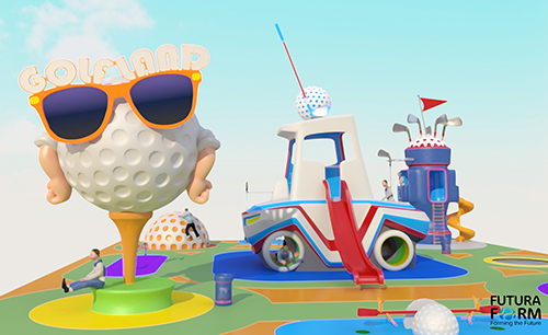 Futura Form launches golf-themed playgrounds