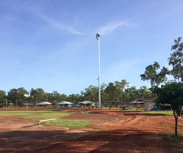 Northern Territory upgrades completed in Gapuwiyak sports oval