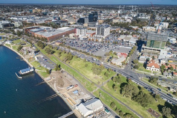 Former Geelong boatyard to be transformed into new beachside park