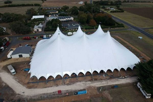 South Australian jazz festival to be staged in world's largest modular tent