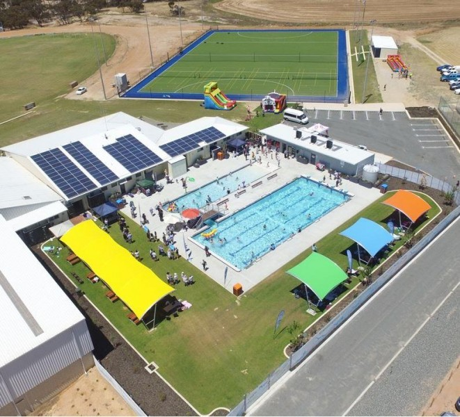 Gnowangerup Community Swimming Pool gets official opening