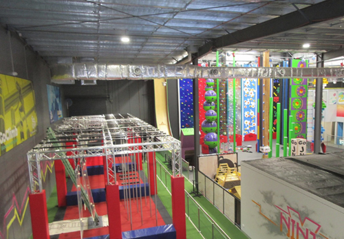 Highgate Group equips GoClimb family entertainment centre in Coburg