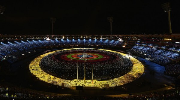 Commonwealth Games opening celebrates Australia from beach to bush