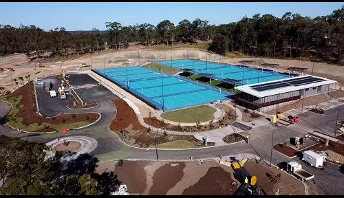 New netball centre first facility completed at Gold Coast's Pimpama Sports Hub