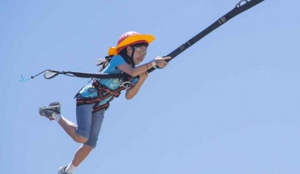 20 metre high giant swing unveiled at the Tallebudgera Active Recreation Centre