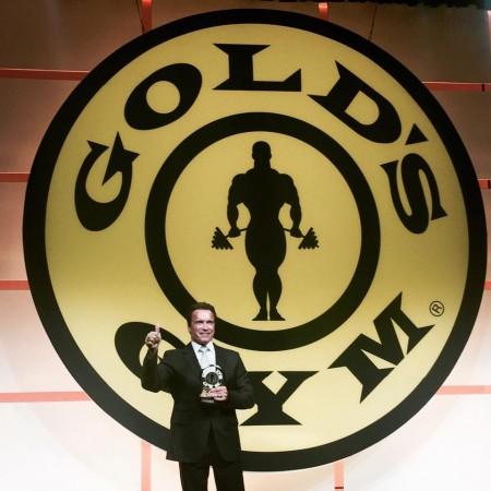 Gold's Gym inducts Arnold Schwarzenegger into Hall of Fame to mark 50th anniversary