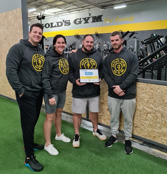 Gold's Gym announces global challenge winner
