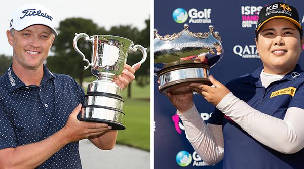 Golf Australia cancels two Opens