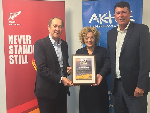 Auckland's Aktive awarded Governance Mark for Sport and Recreation
