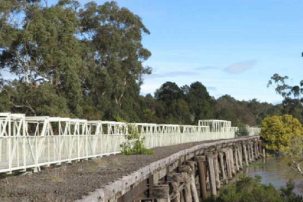 Victorian Government backs extension of Great Southern Rail Trail