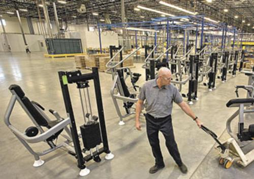 Precor Opens New Manufacturing Plant