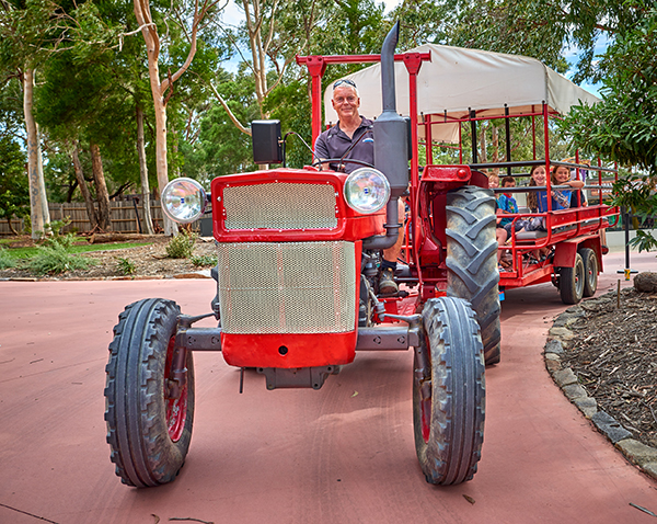 Gumbuya World revives Old Wagon Ride attraction
