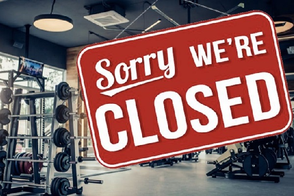 Two-thirds of the world's fitness clubs are currently closed