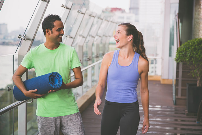 New Gymbud App lets exercisers connect, date and train together