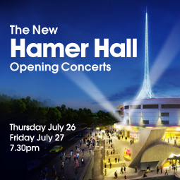 Special events to mark Hamer Hall re-opening
