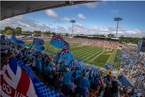 Hamilton gets extended run with World Rugby Sevens Series event