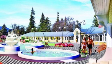 Hanmer Springs unveils plans for European-style luxury day spa