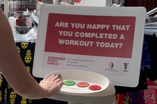 YMCA Victoria and HappyOrNot partner in Australian fitness first