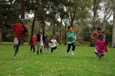 Brimbank Park welcome day marks commencement of Nature Play Week