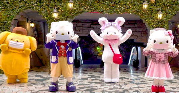 Hello Kitty Land Tokyo launches its partial reopening with entertaining and instructive video