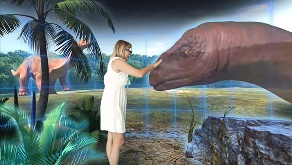 Holographic dinosaur attraction set to launch on the Gold Coast