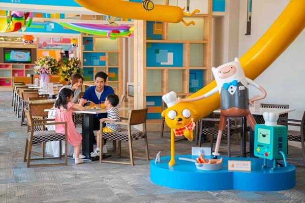 Taiwan Hotel Partners With Cartoon Network To Theme Recreation