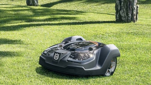 Robot mower on trial in Cairns Parklands