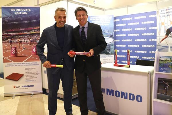 IAAF and track specialist Mondo announce extended partnership