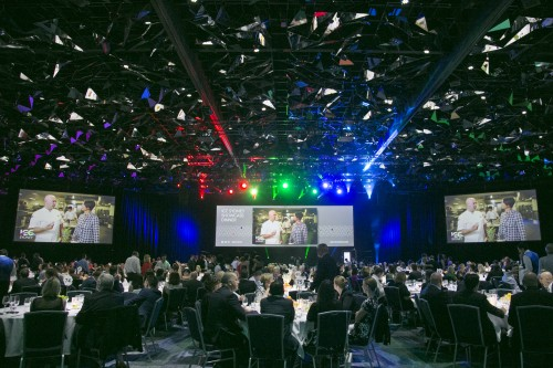 Showcase Dinner demonstrates ICC Sydney excellence and versatility