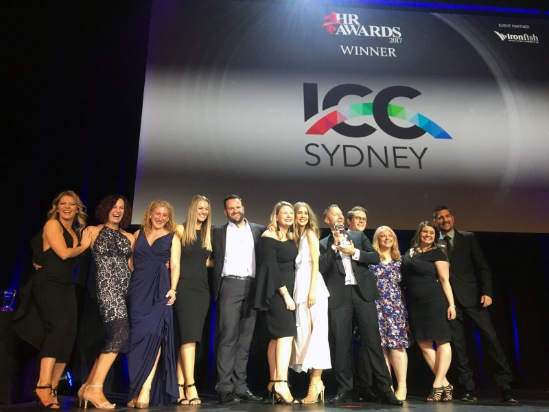 Double award win for ICC Sydney at Australian HR Awards