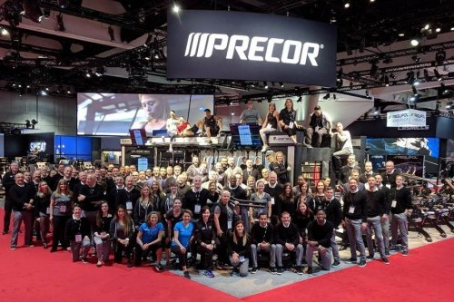 Precor innovations on display at 2018 Fitness Show Sydney